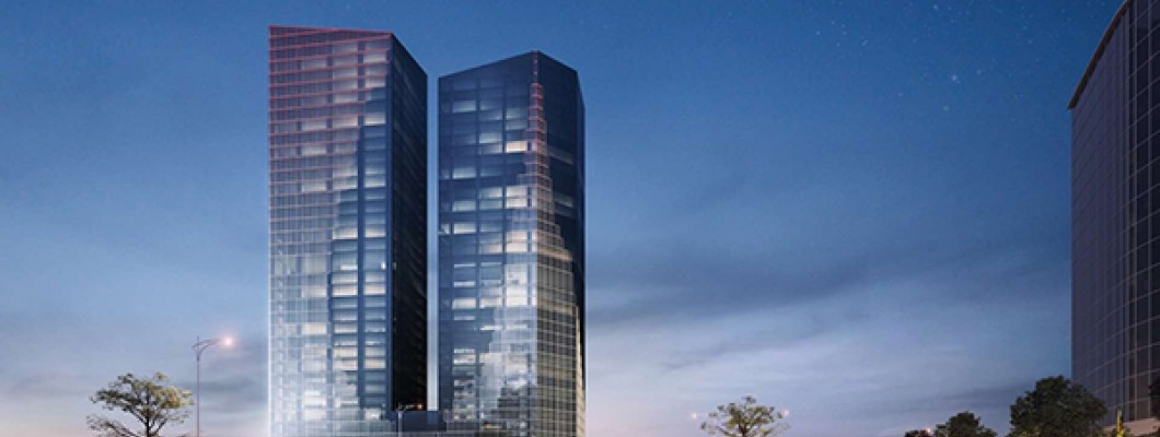 Capital Place - an international standard office building in central Hanoi.