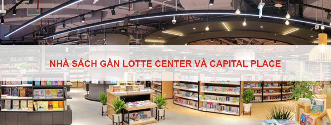 Top 5 nhà sách gần tòa nhà cho thuê văn phòng Lotte Center và Capitale Place chất lượng
