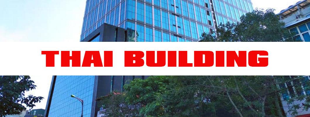 Tòa nhà cho thuê văn phòng hạng A Thai Building còn trống?