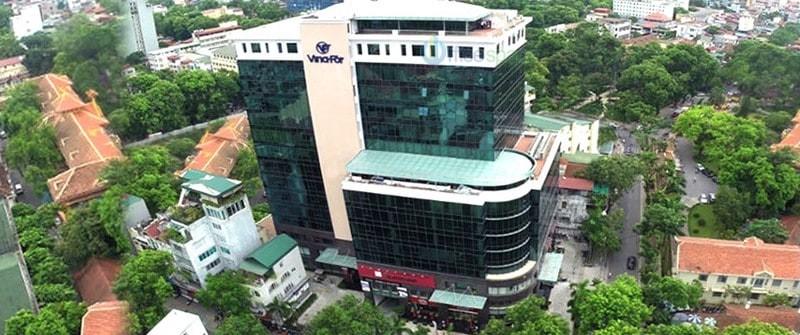 Tòa nhà cho thuê văn phòng Vinafor