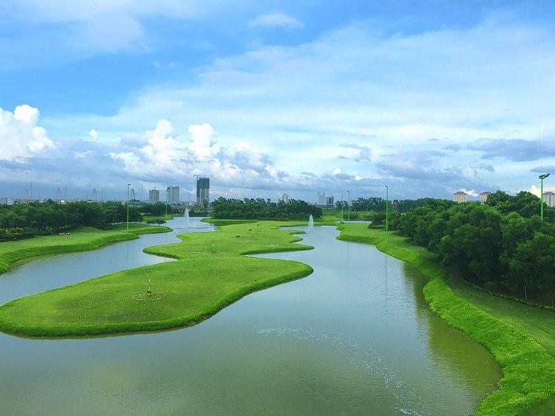 Sân Tập Golf CiputraCiputra- Viên ngọc xanh giữa lòng Hà Nội -